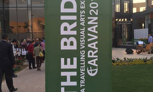 A wonderful Opening night for Caravan's Exhibition BRIDGE at Sodic