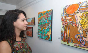 Mona El Bayoumi's Exhibition and Opening Reception