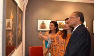 "Saadia Hussain's ""From the Land of Peacocks"" Opening Night Reception"
