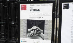 The Bridge Exhibition Opening in London